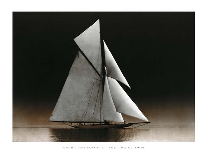 Photography Collection. Yacht Reliance at Full Sail, 1903 [03867]