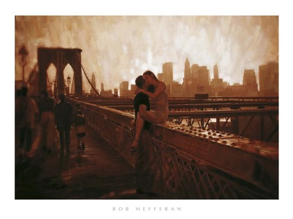 Rob Hefferan. Les Amoureux de Brooklyn Bridge [03987]