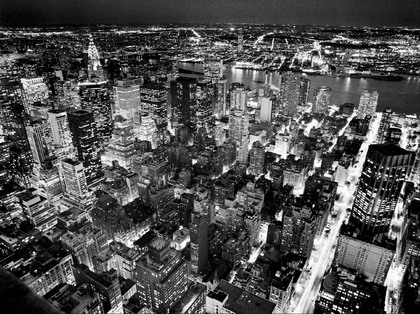 Henri Silberman. Empire State Building, East View [08113]