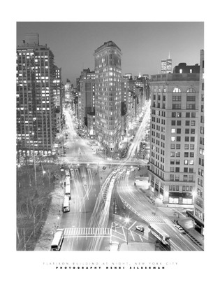 Henri Silberman. Flatiron Building at Night [08133]