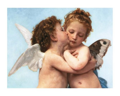 William-Adolphe Bouguereau. Le Premier Baiser [09190]
