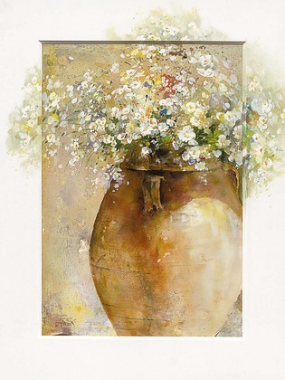 Willem Haenraets. Flowers in a Pot I [32013]